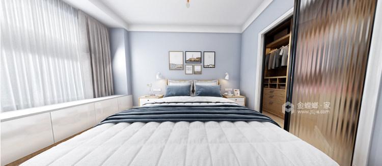 156平北欧小清新,舒适宜人-卧室效果图及设计说明