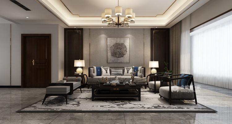 诗意,未来中国年轻人的生活方式-客厅效果图及设计说明