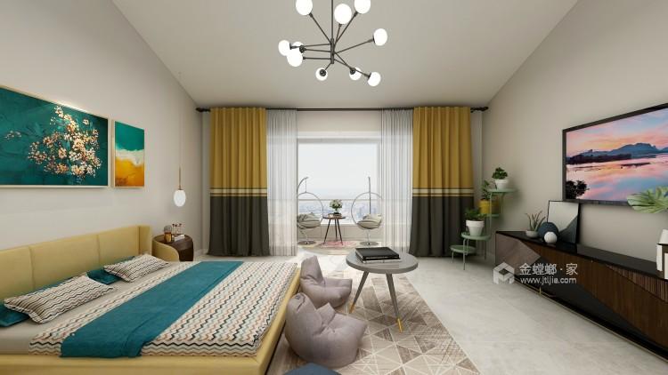 大气端庄的美式,温馨且舒适-卧室效果图及设计说明