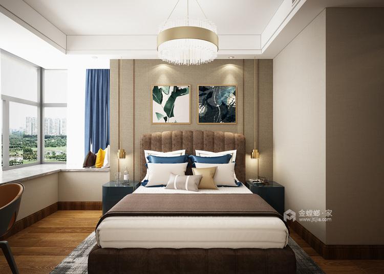 遇见现代,感受惬意-卧室效果图及设计说明