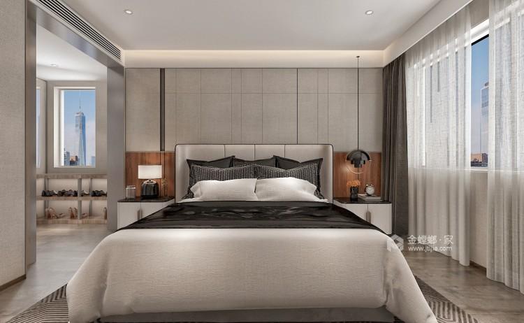 都市自然--演绎与众不同的质朴静谧-卧室效果图及设计说明