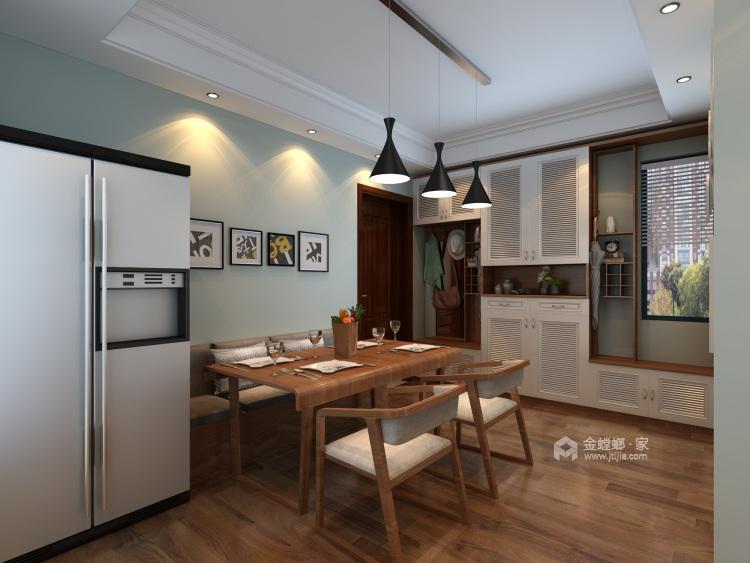 现代生活的悠闲与舒适-餐厅效果图及设计说明