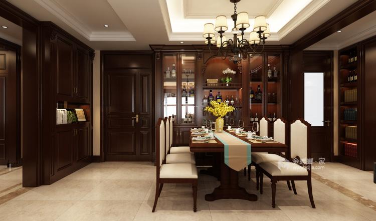 225美式遇见美的生活-餐厅效果图及设计说明