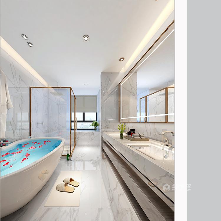 330平大宅 感受法式轻奢空间-卫生间