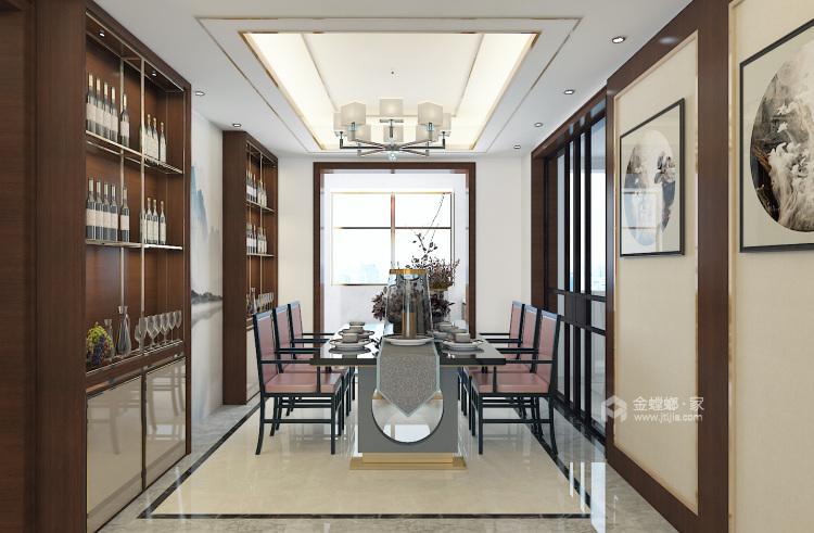 新中式诠释中国的特色-餐厅效果图及设计说明