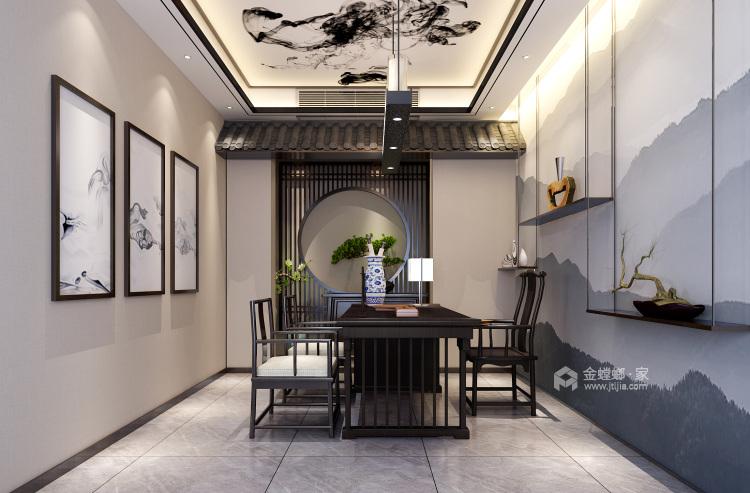 新中式诠释中国的特色-书房