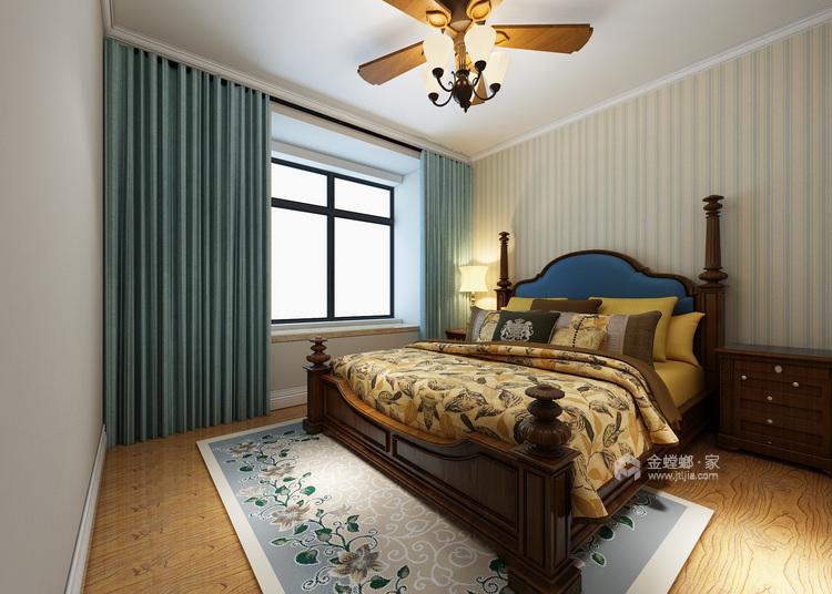 浪漫的美式气息-卧室效果图及设计说明