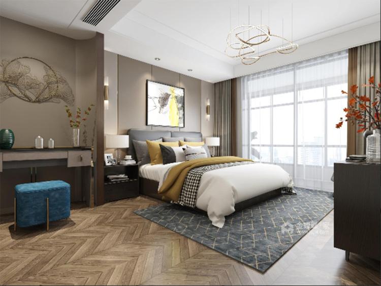 清风雅韵-卧室效果图及设计说明