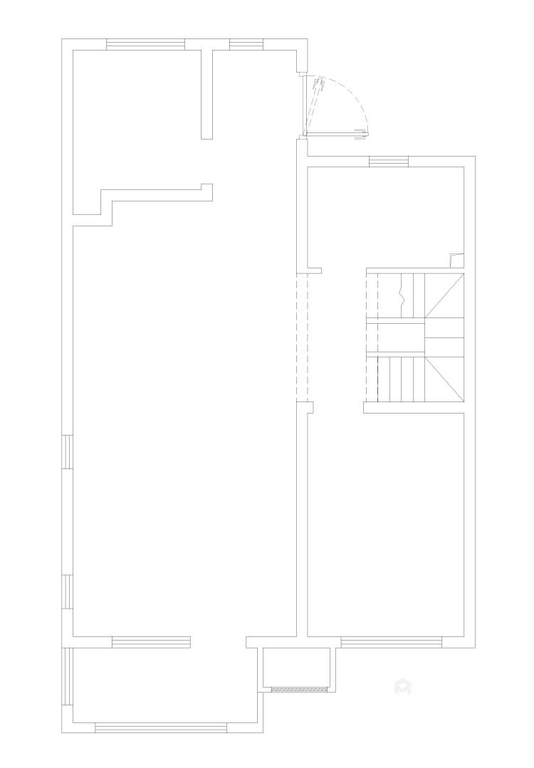 160平米美式轻奢的品质生活-业主需求&原始结构图