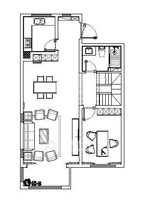 160平米美式轻奢的品质生活-平面设计图及设计说明