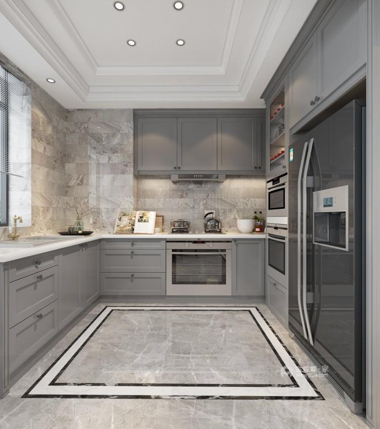 温馨与品质相融合的130平三口幸福之家-厨房
