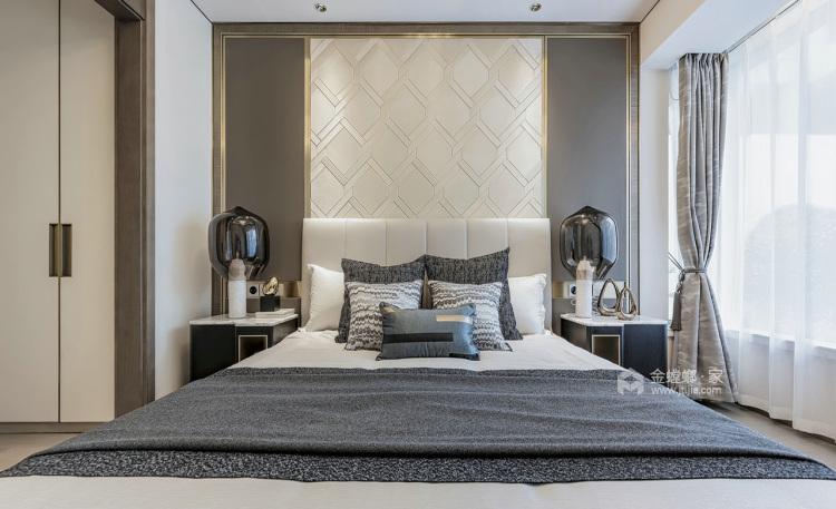 现代轻奢,与自己独处的艺术-卧室效果图及设计说明