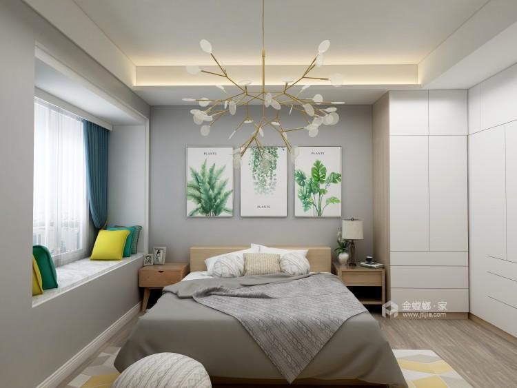 为什么北欧风格这么受喜爱?-卧室效果图及设计说明