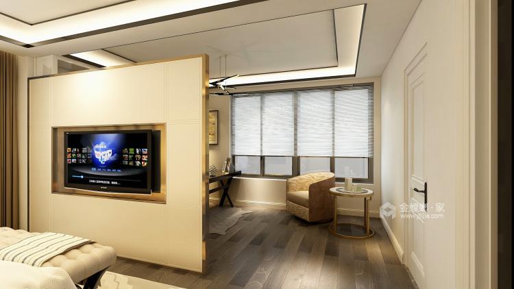 350大户型现代传统相结合-卧室效果图及设计说明
