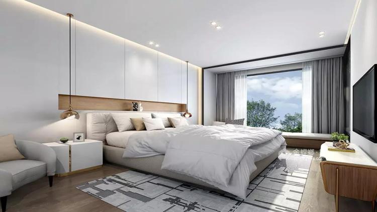 现代简约,流行之美-卧室效果图及设计说明