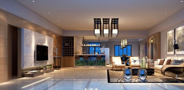 """""""大礼不辞小让"""",真正的奢华隐藏于细节的雕琢之中-客厅效果图及设计说明"""