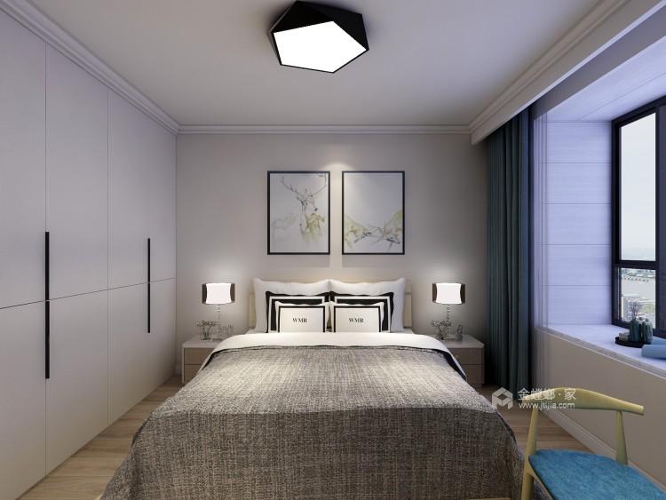 轻奢有度,满目温馨的现代风-卧室效果图及设计说明