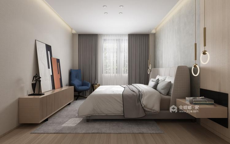 现代极简风的完美呈现-卧室效果图及设计说明