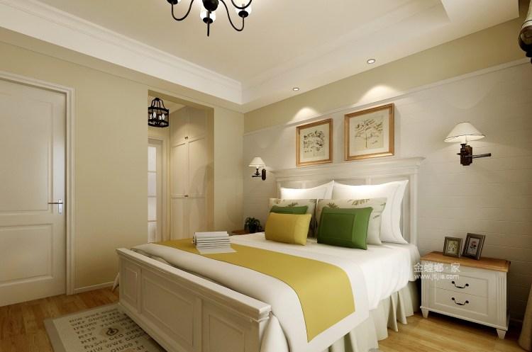 160平米法式风,感受成熟的法国风情-卧室效果图及设计说明