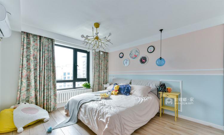 165平米美式轻奢,溢于言表的艺术-卧室效果图及设计说明