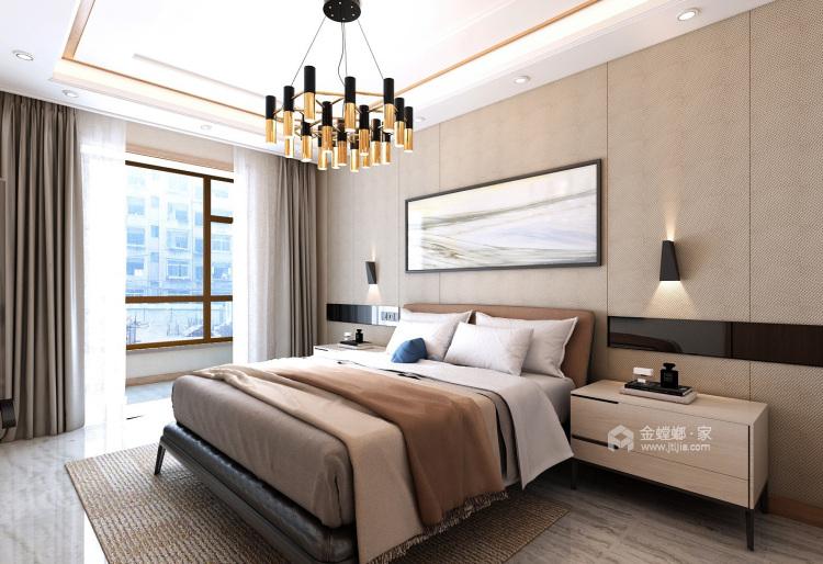 清新现代风就该这么装!-卧室效果图及设计说明