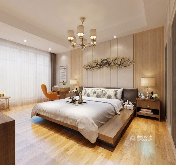 145平简约现代风 享小资之家-卧室效果图及设计说明