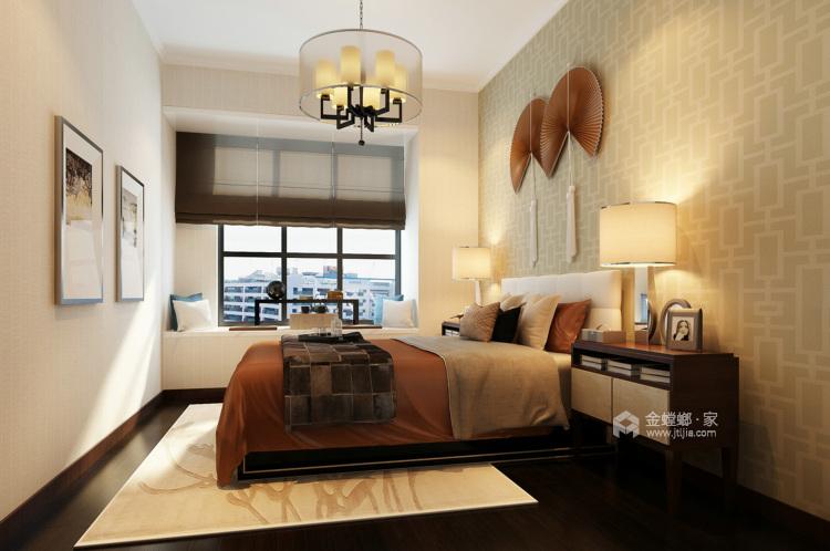 娴静 文雅 适合老年人居住的设计方案-卧室效果图及设计说明