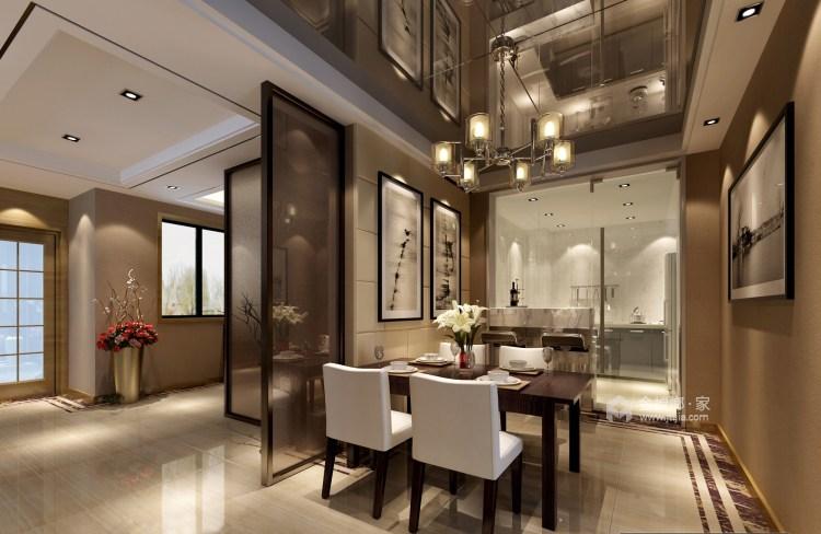 145平现代风 承载父母的爱-餐厅效果图及设计说明