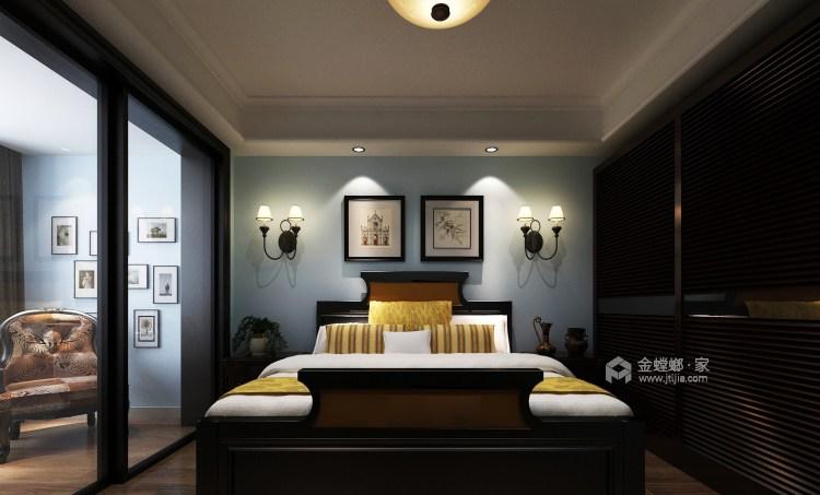 175平经典美式 开启精致生活-卧室效果图及设计说明