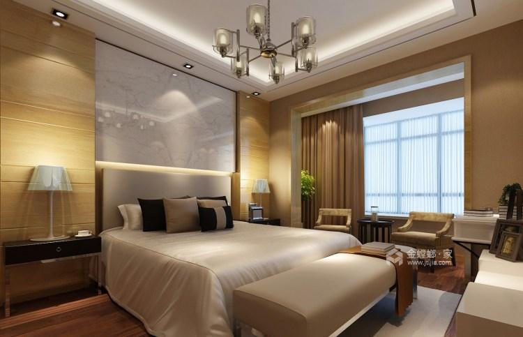 145平现代风 承载父母的爱-卧室效果图及设计说明