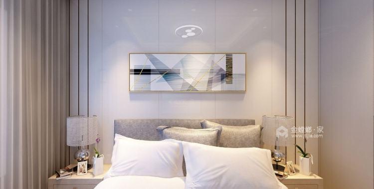 温馨现代,简约不简单-卧室效果图及设计说明