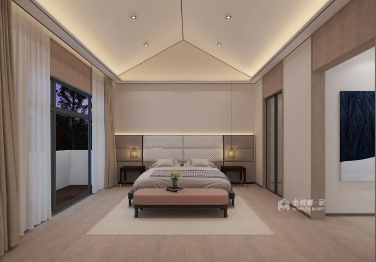 326㎡极简舒适品质生活-卧室效果图及设计说明