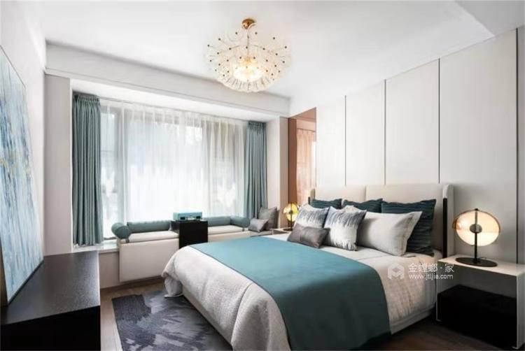 Tiffany blue:不一样的视觉冲击-卧室效果图及设计说明