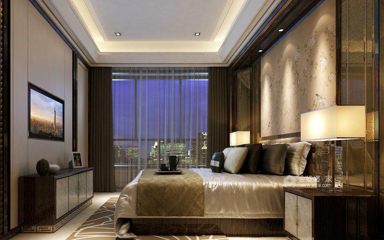 130㎡丁香河畔欧式设计图-卧室效果图及设计说明