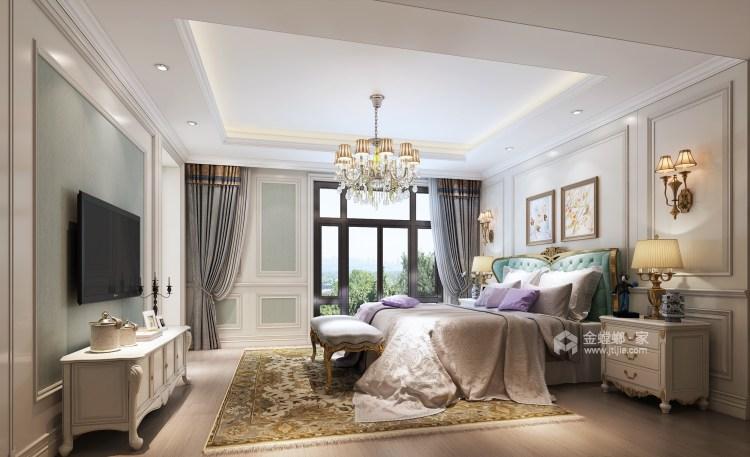 混搭欧美情-卧室效果图及设计说明