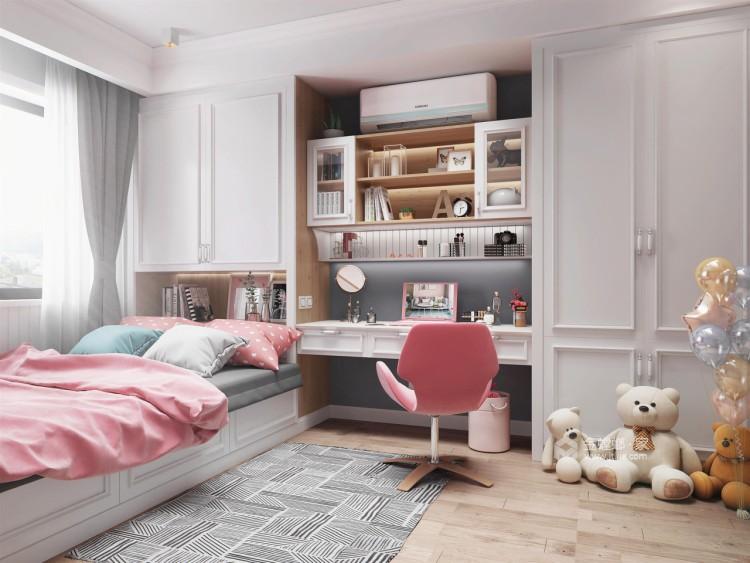 160㎡现代简约,清爽绿赋予都市新生活!-卧室效果图及设计说明