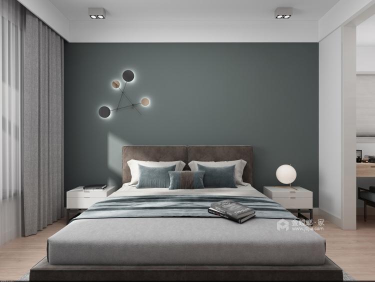 时尚、舒适、温馨的三口之家!-卧室效果图及设计说明