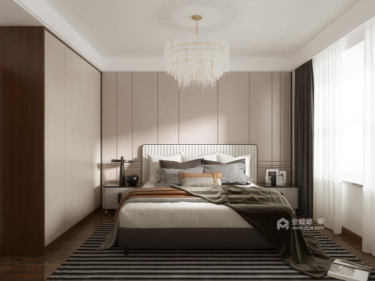 210㎡新中式设计,经久不衰的国粹传承-卧室效果图及设计说明