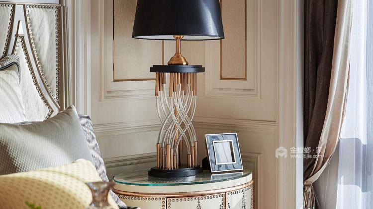 雅致轻奢不失浪漫情调-客厅效果图及设计说明
