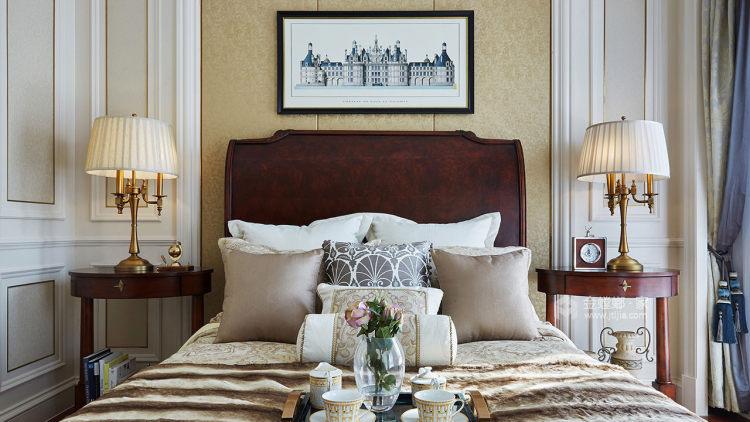雅致轻奢不失浪漫情调-卧室效果图及设计说明