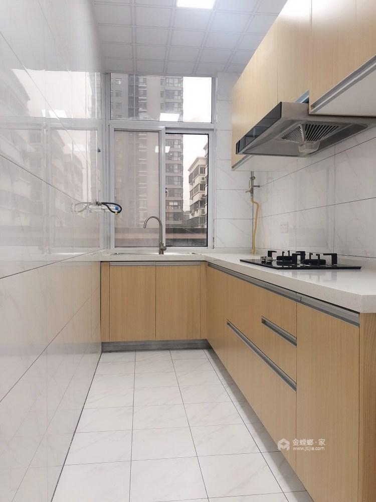 现代与传统元素的结合 打造150平新中式-厨房