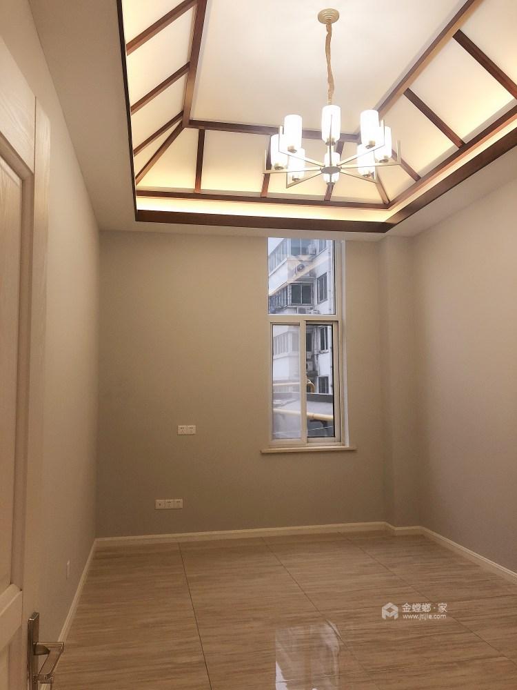 现代与传统元素的结合 打造150平新中式-卧室效果图及设计说明