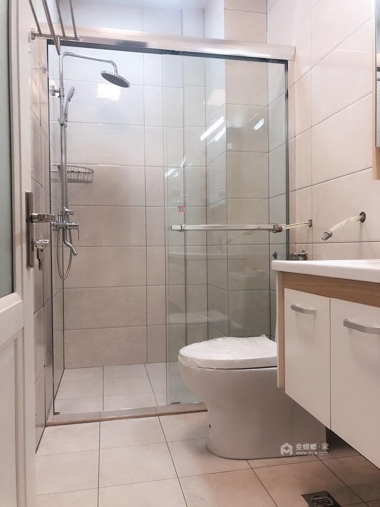 现代与传统元素的结合 打造150平新中式-卫生间