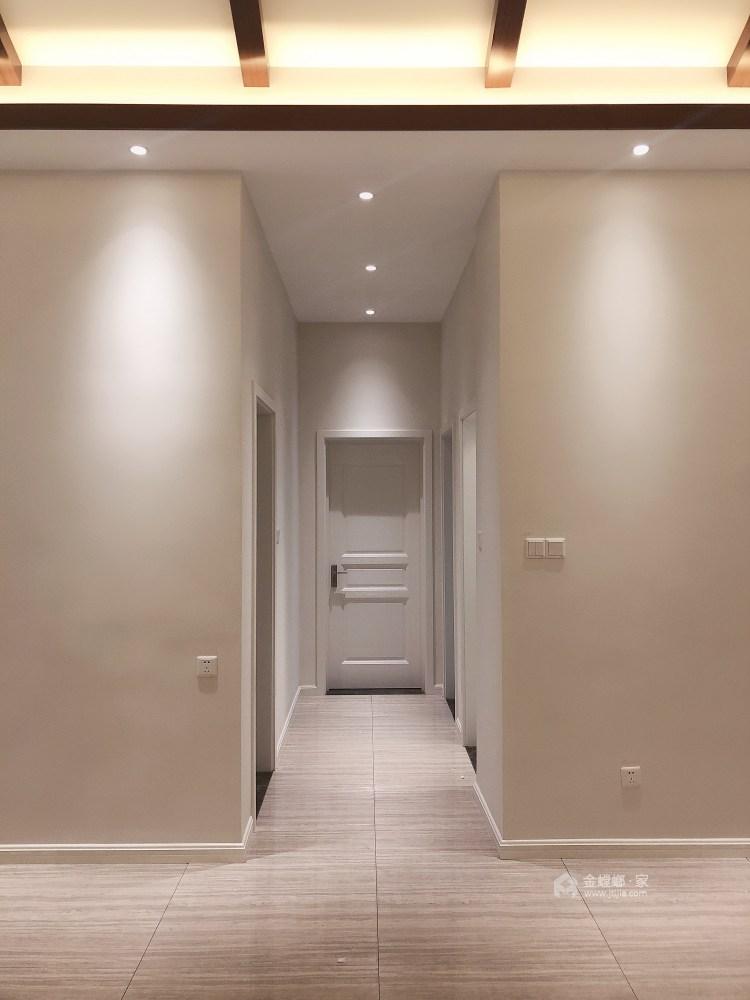 现代与传统元素的结合 打造150平新中式-走廊