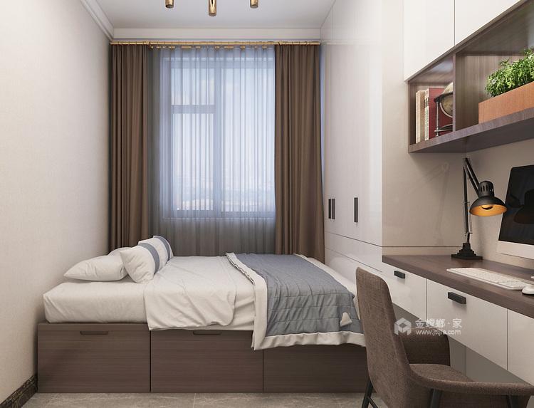 115平新中式静怡舒适之家-卧室效果图及设计说明