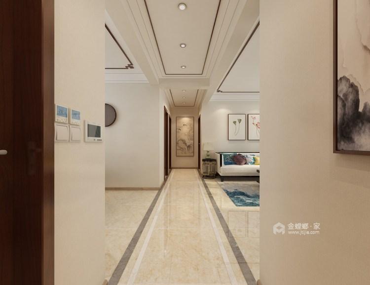 115平新中式静怡舒适之家-玄关