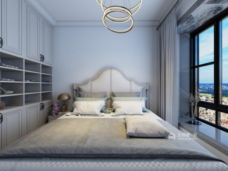 细节铸就品质,这个现代感的家太治愈!-卧室效果图及设计说明