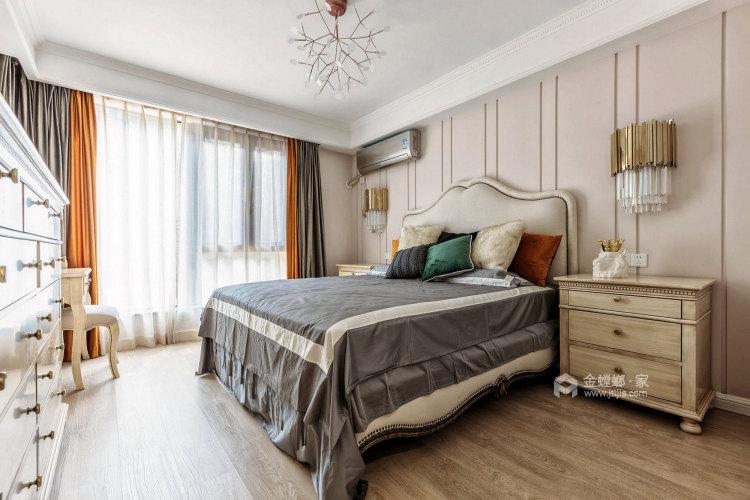 【实景】现代轻美式,满足你的少女心-卧室效果图及设计说明