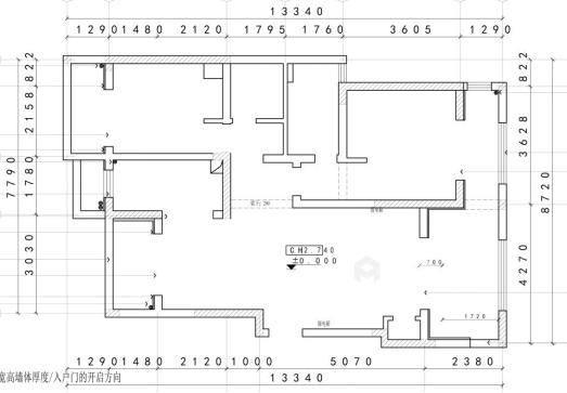 橙光里的小月湾-业主需求&原始结构图