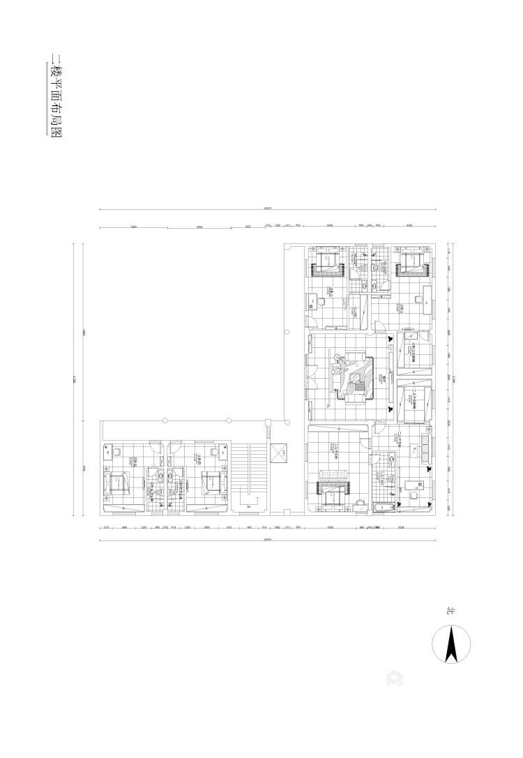 少林寺500平自建房装了多少钱?算算就知道-平面设计图及设计说明